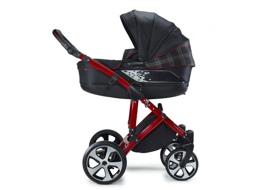 Vw Volkswagen Gti Stroller Combi Pushchair Red Black 2016