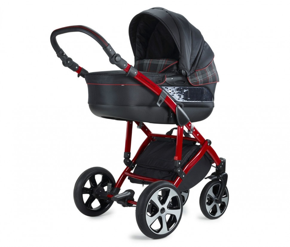 vw volkswagen gti stroller combipushchair redblack   - in the sporty gti stroller is a socalled combipushchair whether as acomplete stroller from birth or as a stroller seat if the kids can alreadysit