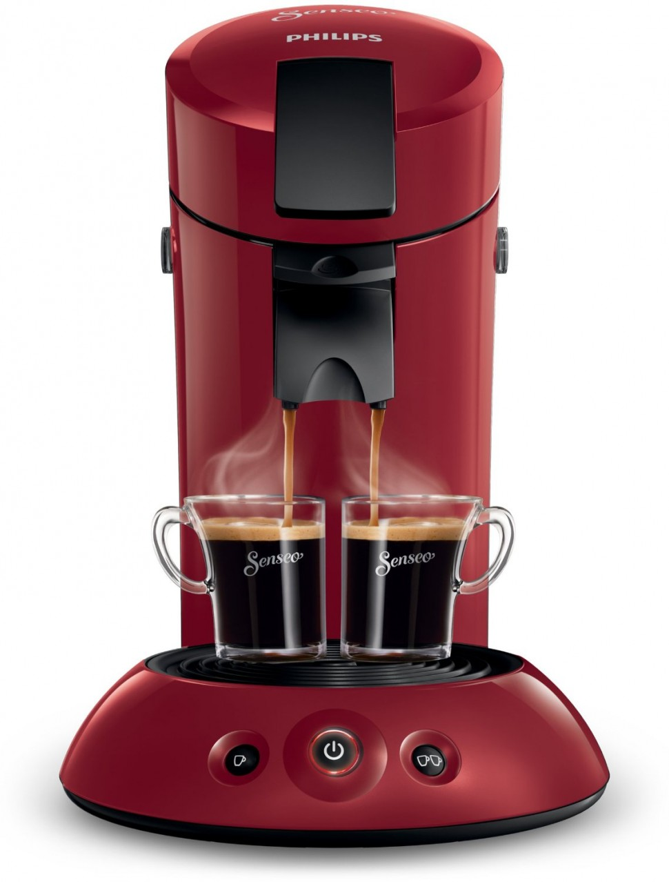 philips senseo hd7817 99 original coffee pod machine ruby wine 1450w genuine new ebay. Black Bedroom Furniture Sets. Home Design Ideas