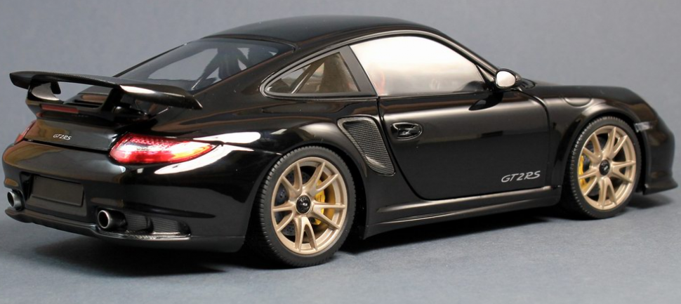 minichamps porsche 911 997 gt2 rs black carbon 2011. Black Bedroom Furniture Sets. Home Design Ideas