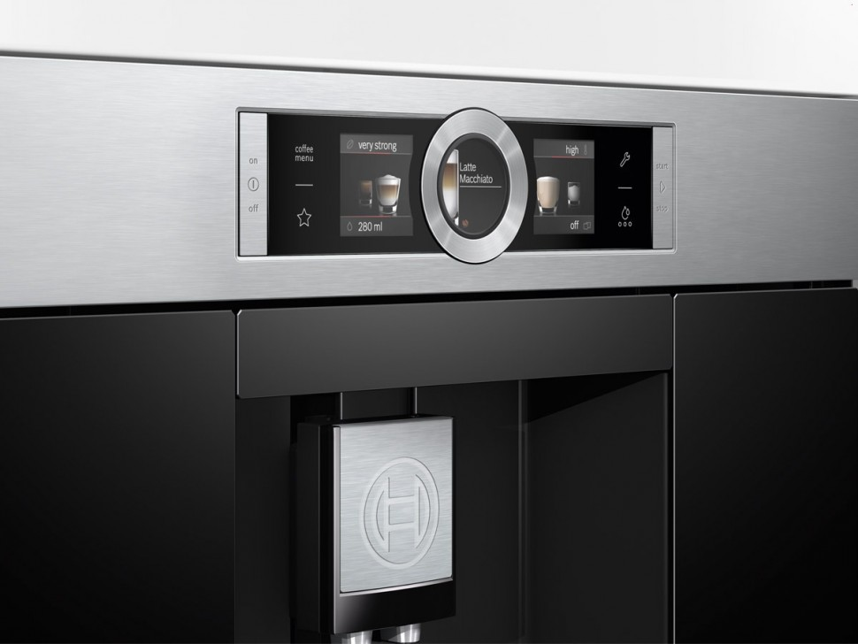 Bosch Ctl636es1 Built In Fully Automatic Espresso Coffee