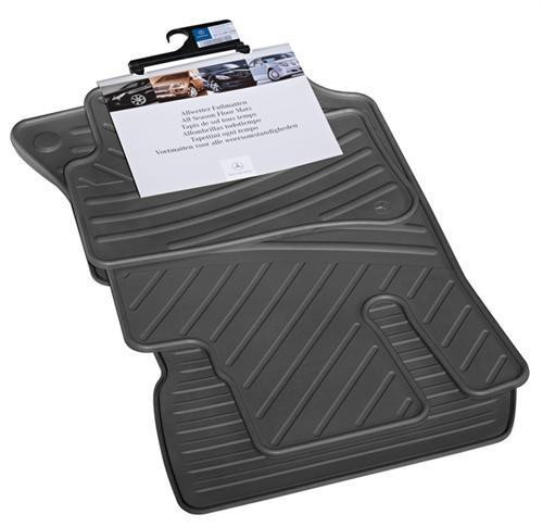 Mercedes benz e class w212 rubber black floor mats for Mercedes benz e350 floor mats