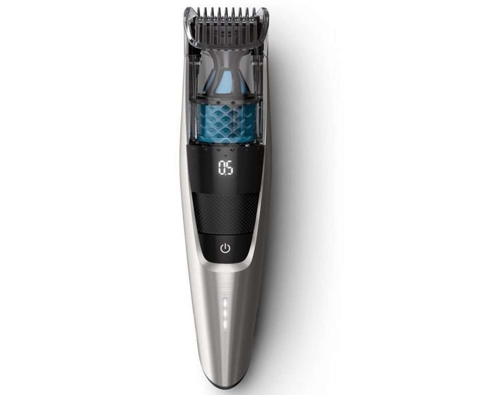 philips bt7220 15 vacuum beard trimmer series 7000 led display genuine new ebay. Black Bedroom Furniture Sets. Home Design Ideas