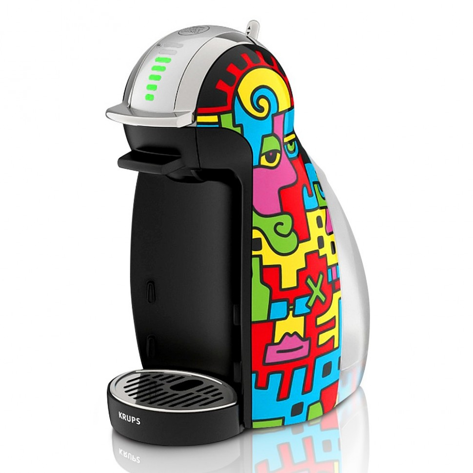 krups genio nescafe dolce gusto billy the artist capsule coffee machine genuine ebay. Black Bedroom Furniture Sets. Home Design Ideas