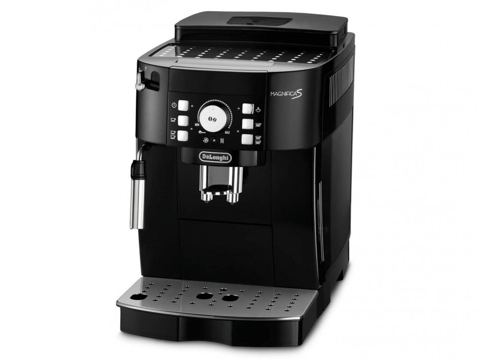 delonghi magnifica s ecam automatic coffee machine black genuine new ebay. Black Bedroom Furniture Sets. Home Design Ideas