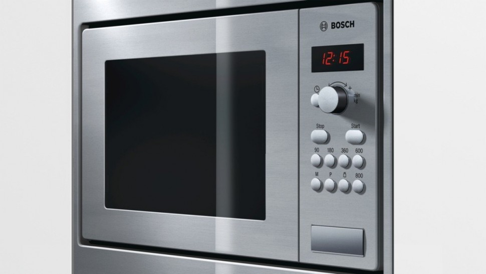 bosch hmt75m551 compact microwave oven built in stainless steel genuine new ebay. Black Bedroom Furniture Sets. Home Design Ideas