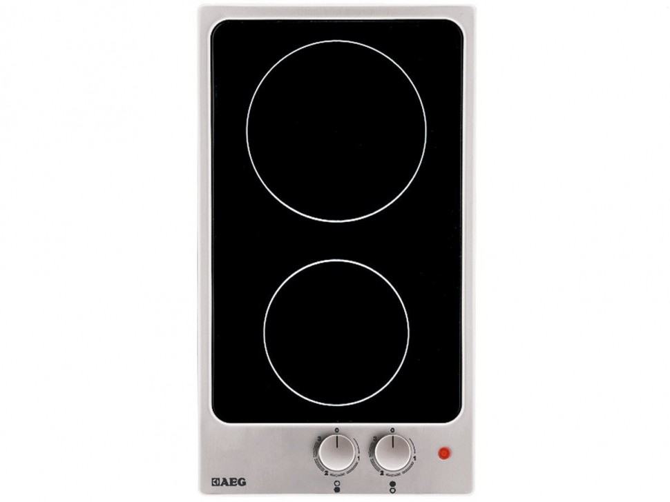 Aeg Hk312000mb Glass Ceramic Hob Black Cooktop 3000w 2