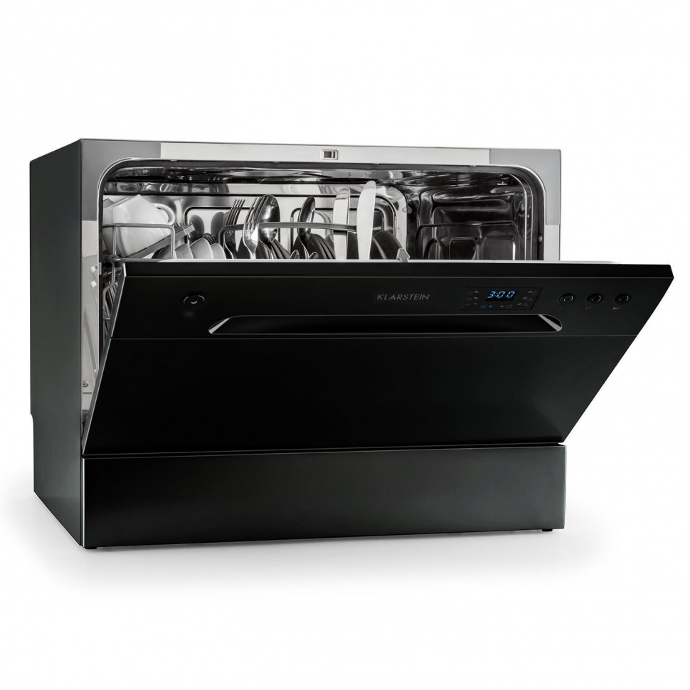 Table Top Dishwasher Uk : Details about Klarstein Amazonia 6 Table Top Dishwasher Built In A+ ...