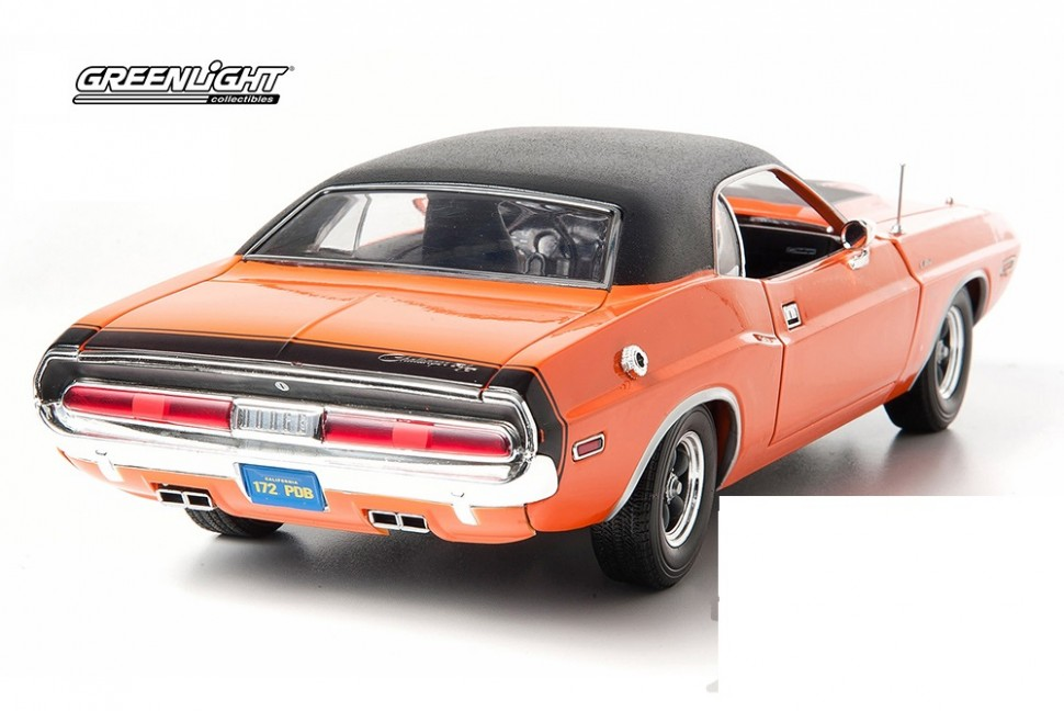 greenlight dodge challenger r t fast and furious darden 1 18 model car genuine. Black Bedroom Furniture Sets. Home Design Ideas
