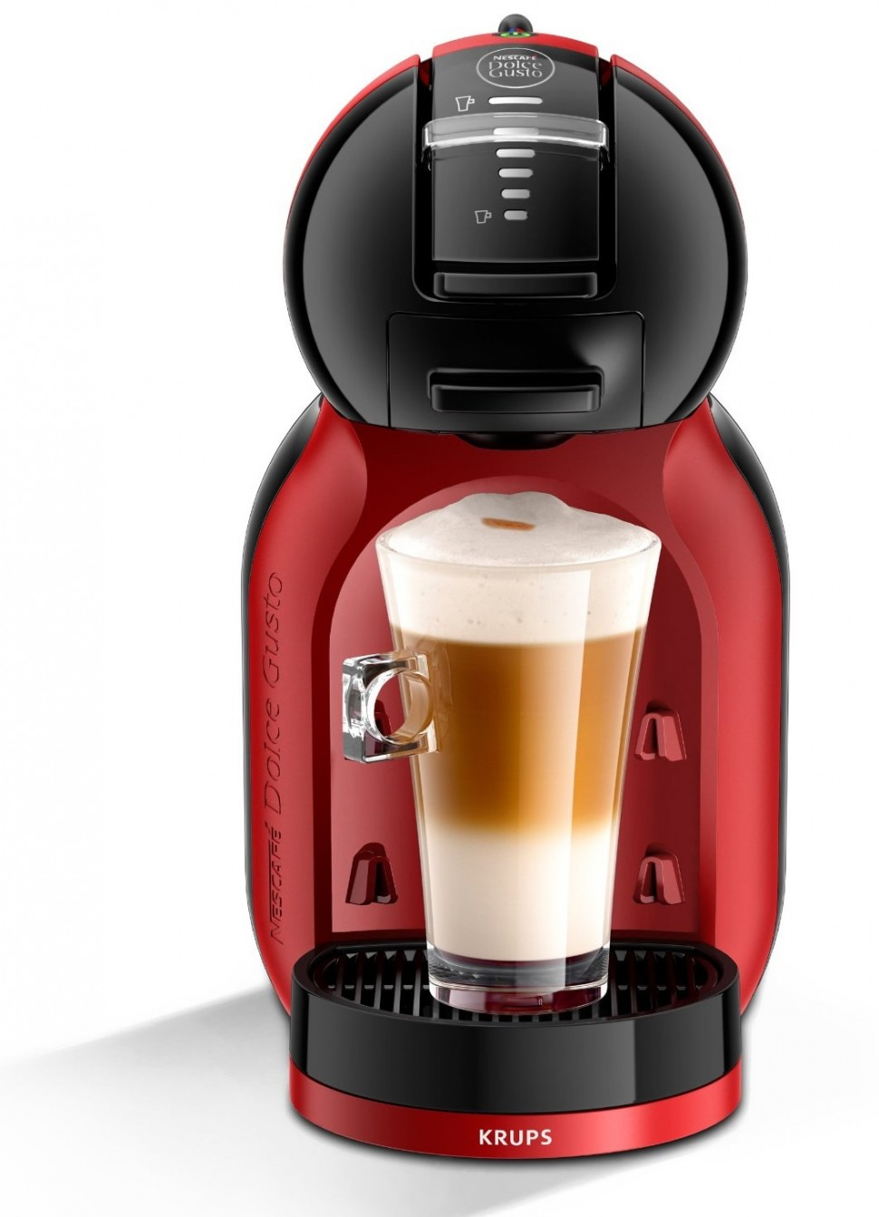 krups kp120h capsule coffe machine mimi me nescafe dolce gusto red 1500w genuine ebay. Black Bedroom Furniture Sets. Home Design Ideas