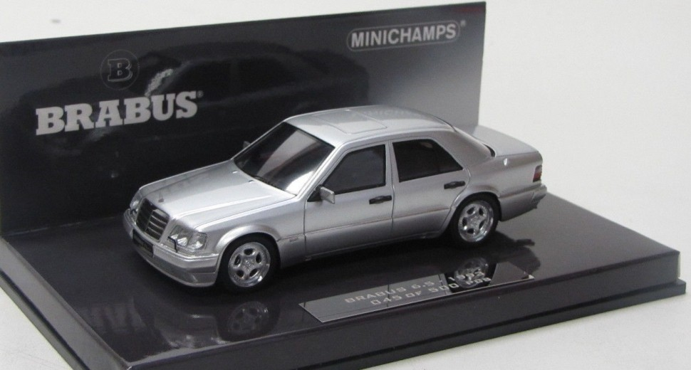 Minichamps mercedes benz 500e w124 brabus 6 5 1989 1 43 for Mercedes benz usa customer service phone number