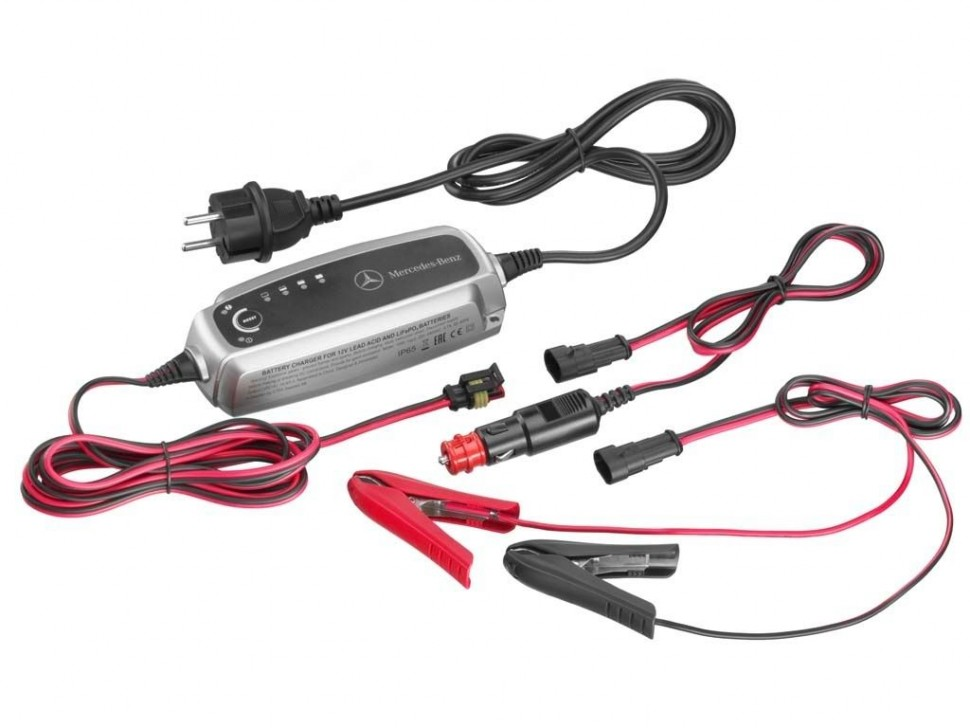 mercedes benz car battery charger trickle charging 12v