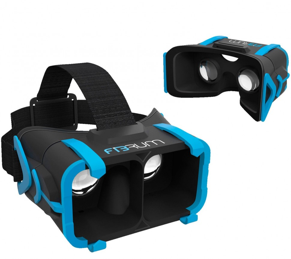 Fibrum VR Glasses Mobile Virtual Reality For 3D Movies ...