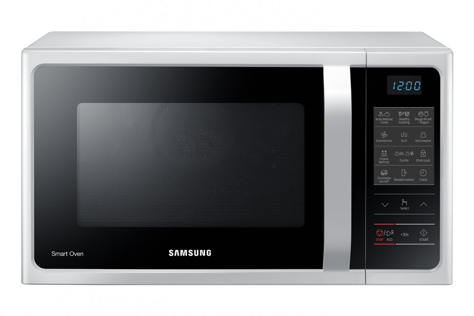 Samsung Mc28h5013aw Microwave Oven With Convection Amp Grill