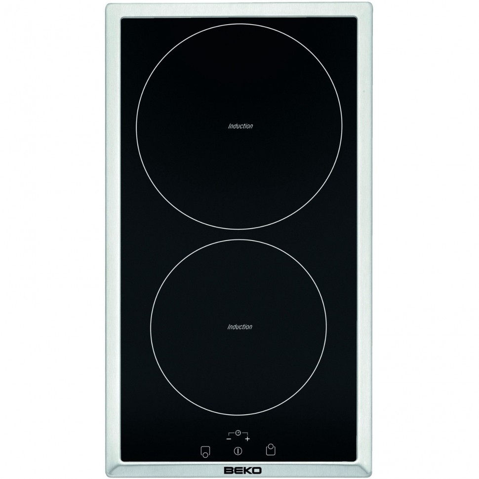 beko hdmi32400dtx built in induction domino hob 2 cooking. Black Bedroom Furniture Sets. Home Design Ideas