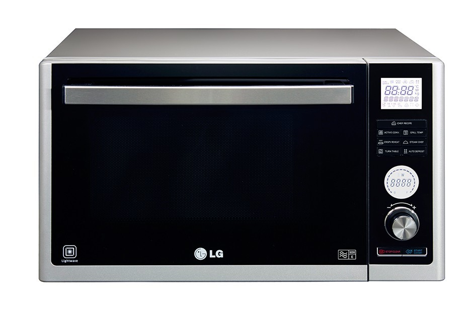 Lg Countertop Convection Oven : Details about LG MJ3281BCS Microwave Oven With Grill & Convection 32L ...