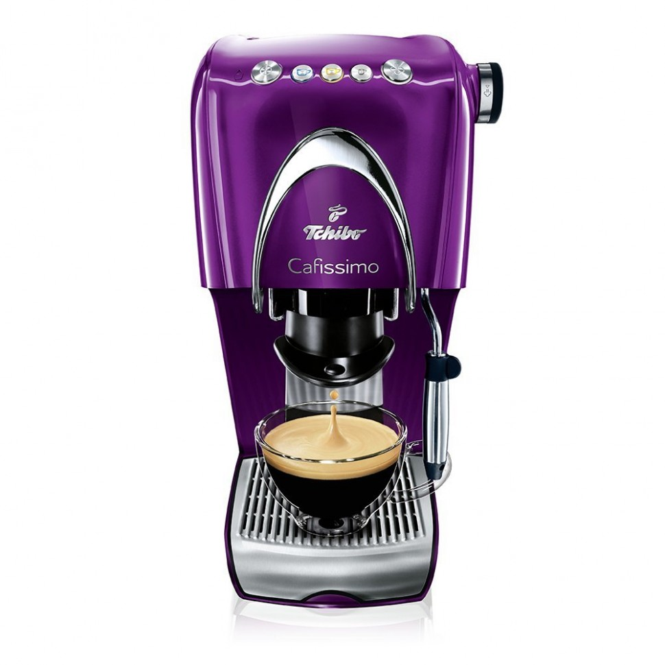 tchibo cafissimo classic capsule espresso coffee machine purple genuine new ebay. Black Bedroom Furniture Sets. Home Design Ideas
