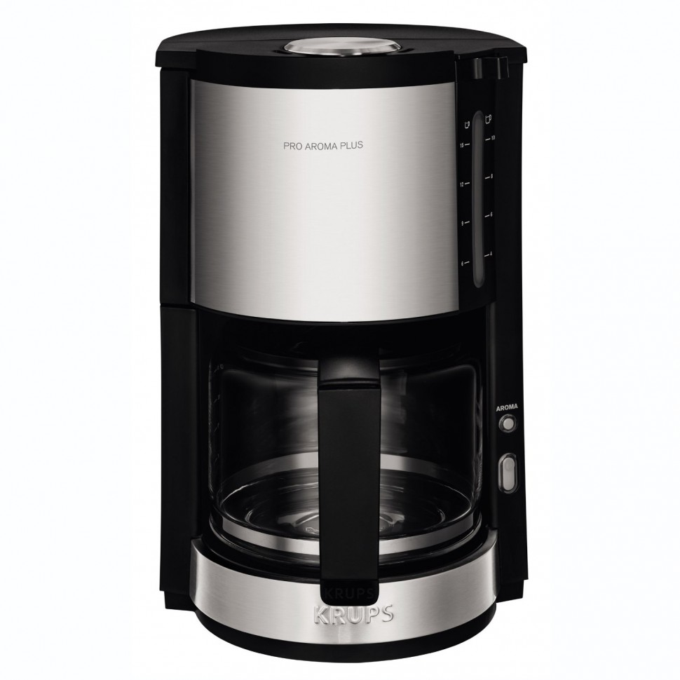 Krups Pro Aroma Plus KM321 Filter Coffee Machine Black 10 Cups 1050W Genuine NEW eBay