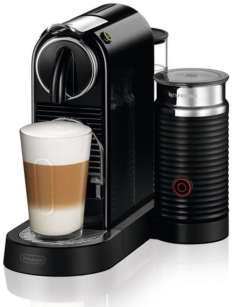 Nespresso Coffee Maker 220 Volts : Delonghi Citiz & Milk EN 267.BAE Nespresso Capsule Coffee Machine Black Genuine eBay