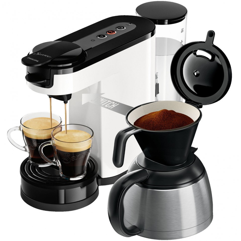 philips hd7892 00 senseo switch pod filter coffee. Black Bedroom Furniture Sets. Home Design Ideas