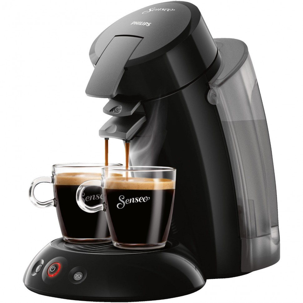 philips hd7818 23 senseo coffee pod pad machine 1450w 1 2l black genuine new ebay. Black Bedroom Furniture Sets. Home Design Ideas