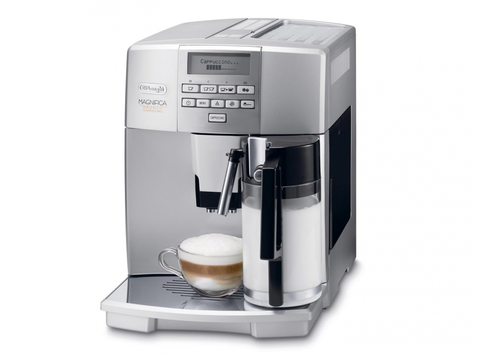 Coffee Maker Clean Button : Delonghi ESAM 04.350.S Magnifica Pronto Cappuccino Espresso Machine Genuine NEW eBay