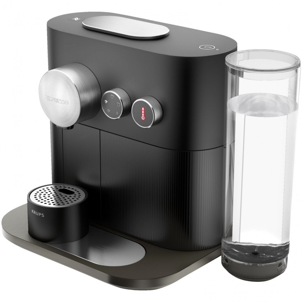 krups nespresso expert xn 6008 bluetooth capsule coffee machine black genuine ebay. Black Bedroom Furniture Sets. Home Design Ideas