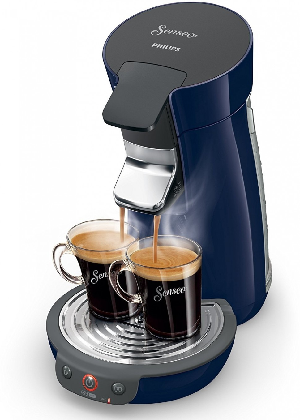 philips senseo hd7825 46 viva cafe coffee pod machine blue. Black Bedroom Furniture Sets. Home Design Ideas