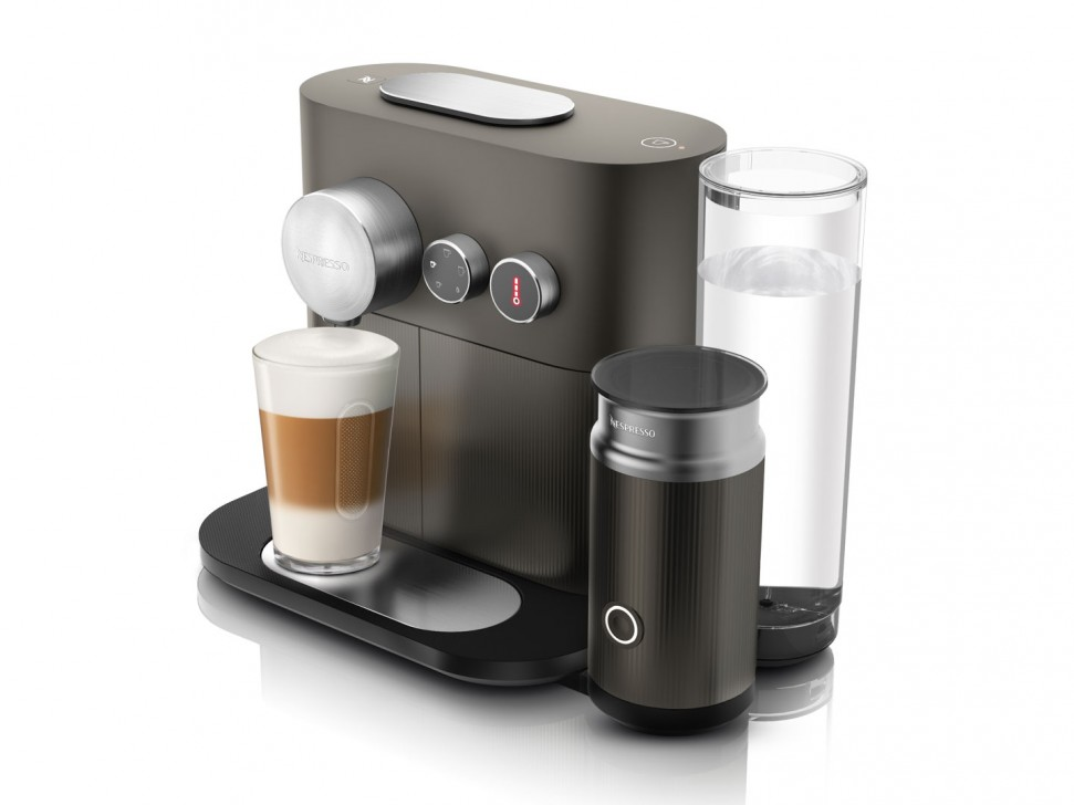 Nespresso Coffee Maker 220 Volts : Delonghi EN355.GAE Expert & Milk Nespresso Capsule Coffee Machine Grey Genuine eBay