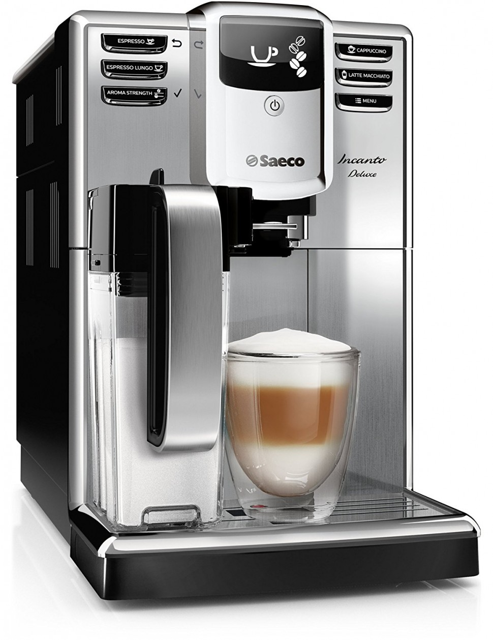 philips saeco hd8921 01 incanto deluxe coffee machine. Black Bedroom Furniture Sets. Home Design Ideas