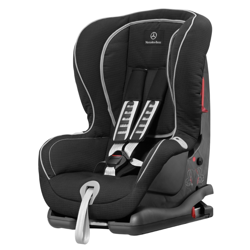 mercedes benz child seat duo plus with isofix ece black a0009701702 genuine ebay. Black Bedroom Furniture Sets. Home Design Ideas
